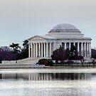 Jefferson Memorial  by Clark Thompson