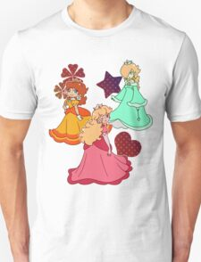 Three Princesses Unisex T-Shirt
