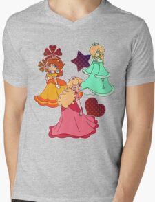 Three Princesses Mens V-Neck T-Shirt