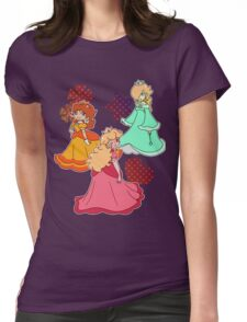 Three Princesses Womens Fitted T-Shirt