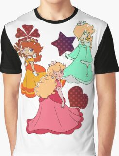 Three Princesses Graphic T-Shirt