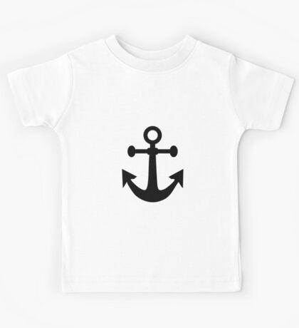 Boat Anchor Kids Tee