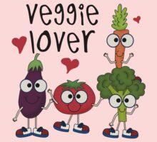 Vegetables Vegetarian Veggie Lover Kids Tee