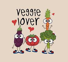Vegetables Vegetarian Veggie Lover Womens Fitted T-Shirt