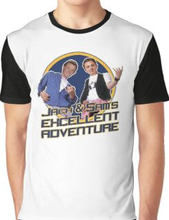 Jack and Sam's Excellent Adventure Graphic T-Shirt