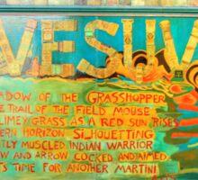 Visuvio Mural Sticker