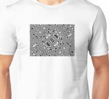 Abstract pattern - kaleidoscopic pattern Unisex T-Shirt