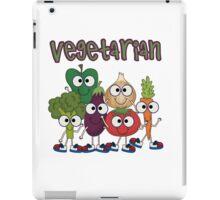 Silly Vegetables Veggies Vegetarian iPad Case/Skin