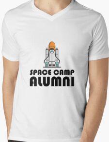 Space Camp Alumni Mens V-Neck T-Shirt