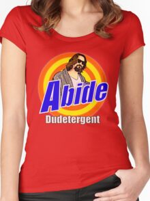ABIDE Dudetergent Women's Fitted Scoop T-Shirt
