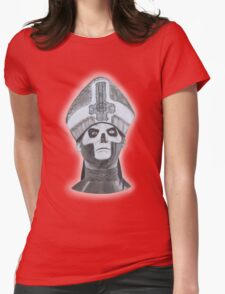 Papa Emeritus III face hand-drawn Womens Fitted T-Shirt