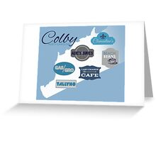 Visit Colby Greeting Card