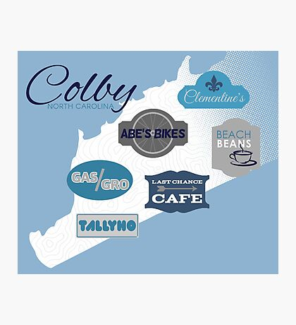 Visit Colby Photographic Print