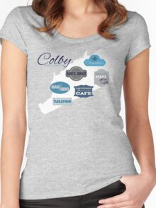 Visit Colby Women's Fitted Scoop T-Shirt