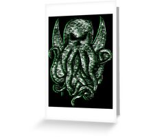 Cthulhu Fthagn Greeting Card