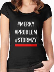 Stormzy #MERKY  Women's Fitted Scoop T-Shirt