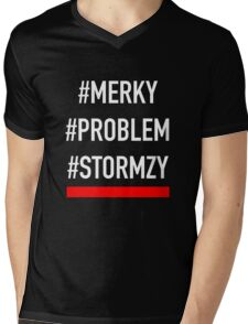 Stormzy #MERKY  Mens V-Neck T-Shirt