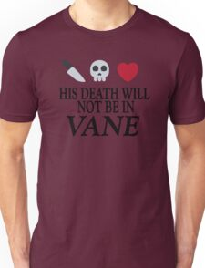 Vane (Black Text) T-Shirt