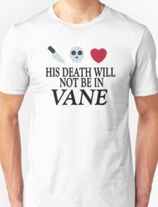 Vane (Black Text) Unisex T-Shirt