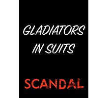 Gladiators in Suits Photographic Print