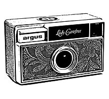 Argus-Lady Carefree Photographic Print