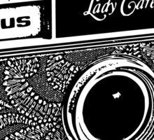Argus-Lady Carefree Sticker