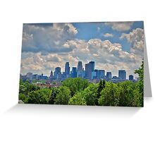 Minneapolis 5 Greeting Card