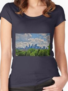 Minneapolis 5 Women's Fitted Scoop T-Shirt