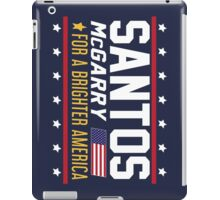 Santos and McGarry Campaign Rotated Design iPad Case/Skin