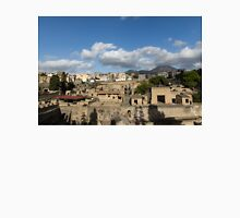 Ancient Herculaneum Ruins - Sunny Afternoon From Above  Unisex T-Shirt