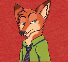 Nick Wilde from Zootopia Tri-blend T-Shirt