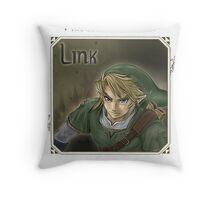 The Legend of Zelda Twilight Princess  Throw Pillow