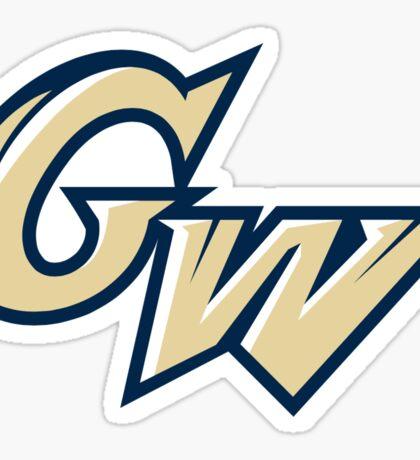 GW informal logo Sticker