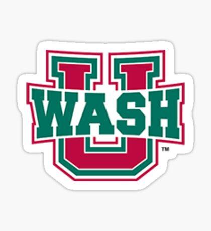 wash u informal logo  Sticker