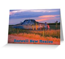 Roswell New Mexico Greeting Card