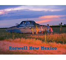 Roswell New Mexico Photographic Print
