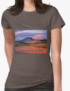 Roswell New Mexico Womens Fitted T-Shirt