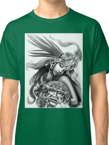 Warrior aztec Classic T-Shirt