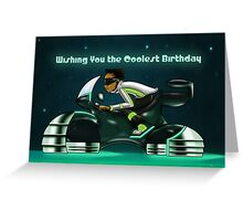 """Wishing You The Coolest Birthday"" Card (blank inside) Greeting Card"