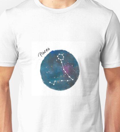 pisces galaxy Unisex T-Shirt