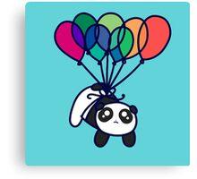 Kawaii Balloon Panda Canvas Print