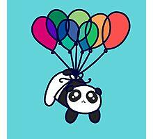 Kawaii Balloon Panda Photographic Print