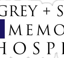 Grey + Sloan Memorial Hospital – Grey's Anatomy, McDreamy Sticker