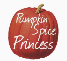 Pumpkin Spice Princess One Piece - Short Sleeve