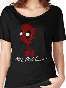 Milpool Women's Relaxed Fit T-Shirt