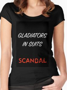 Gladiators in Suits Women's Fitted Scoop T-Shirt