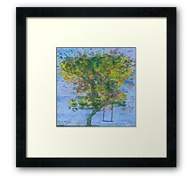 Tree Swing Framed Print