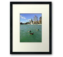 Buen Retiro Park Framed Print
