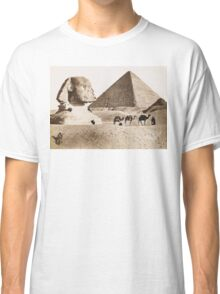 Vintage Photographs and prints of Egypt Classic T-Shirt