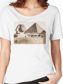 Vintage Photographs and prints of Egypt Women's Relaxed Fit T-Shirt